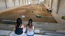 Instalaciones de la escuela de equitación en Vilamarín.