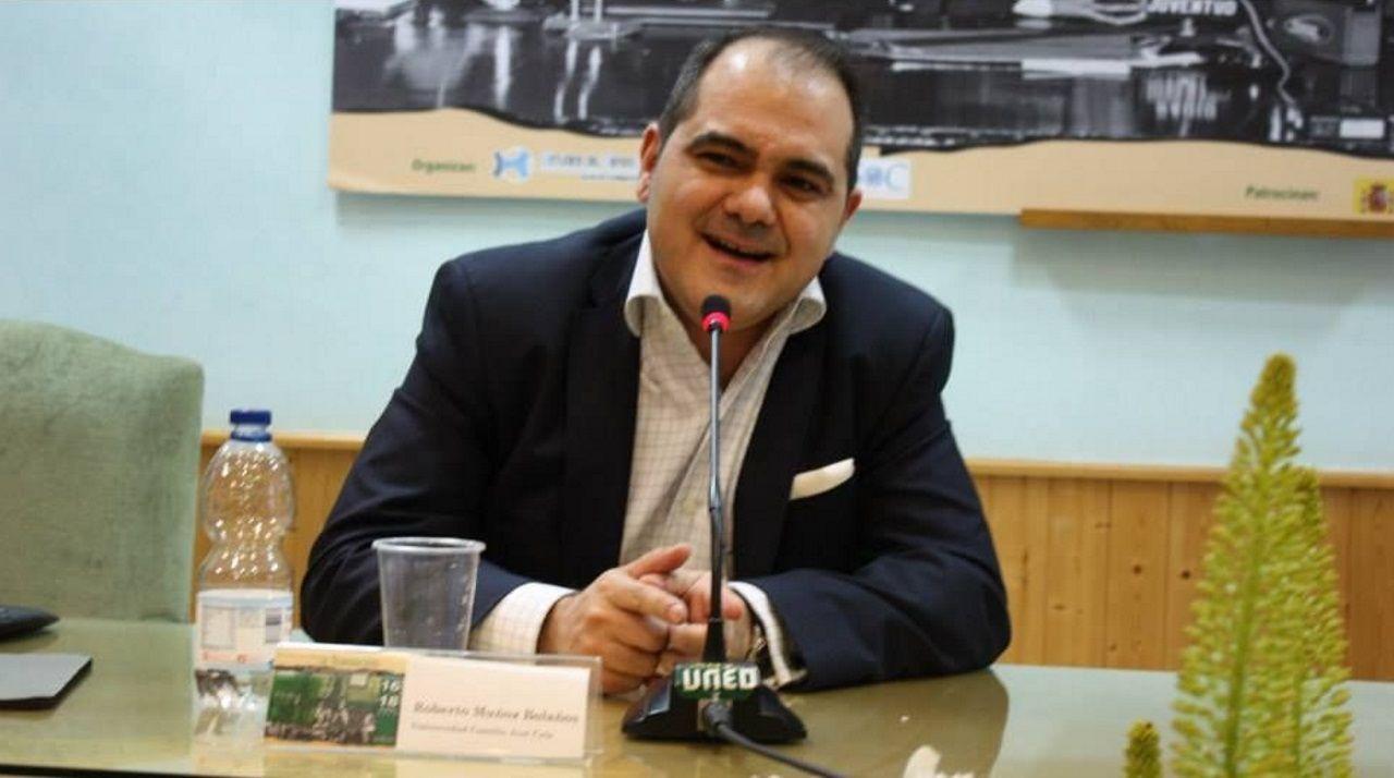 El historiador Roberto Muñoz Bolaños