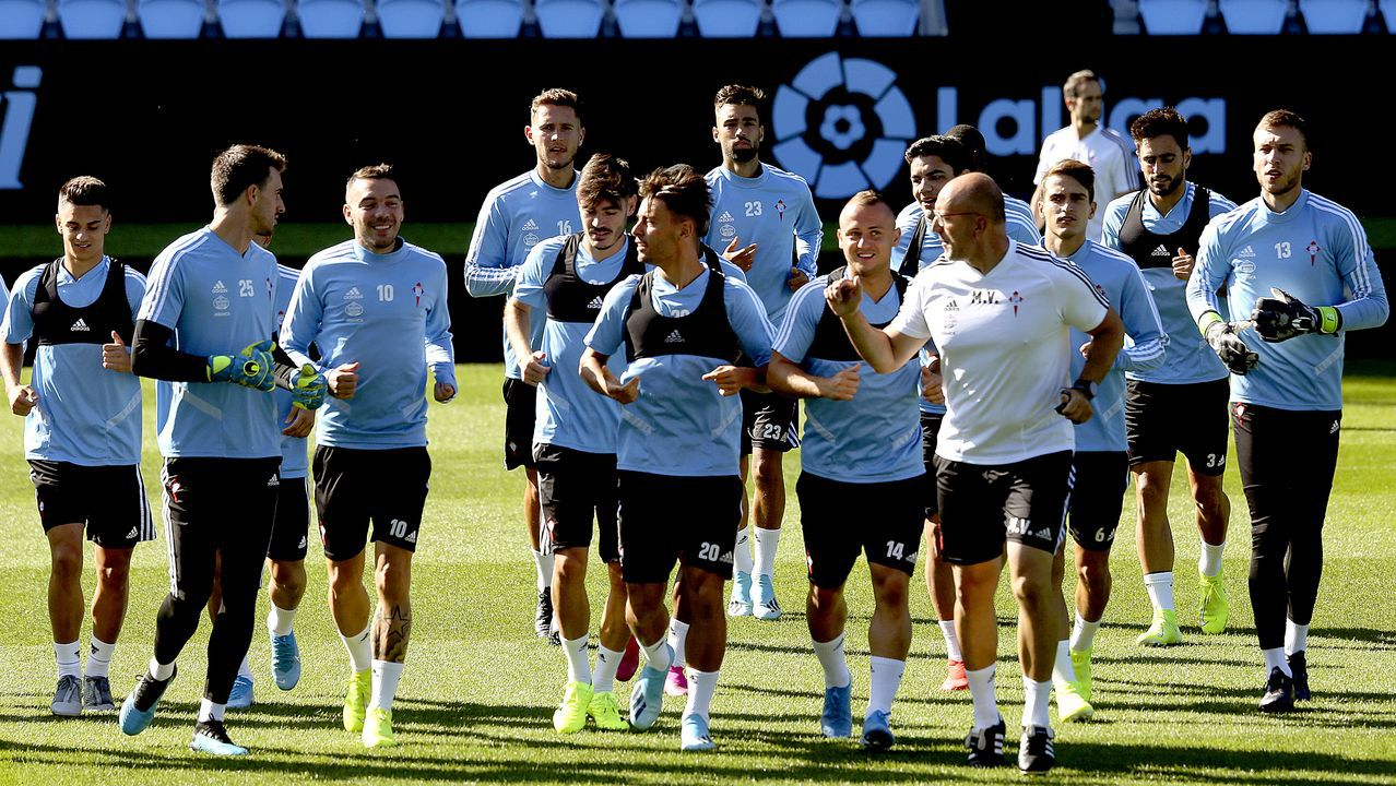 El Celta - Real Madrid, en imágenes.Salt Bae y Carlos Mouriño en la sede del Celta