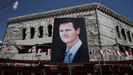 La victoria de Bachar al Asad se da por segura ante una oposición anulada e un pais destrozado por la guerra.