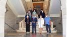 Toma de posesión de ocho funcionarios de la Diputación de Lugo