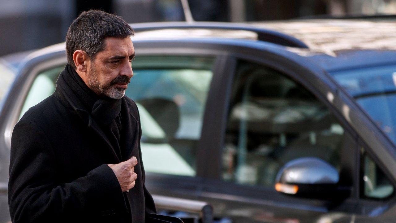 Trapero, exmayor de los Mossos, es acusado de obstruir la labor de la policía y la Guardia Civil