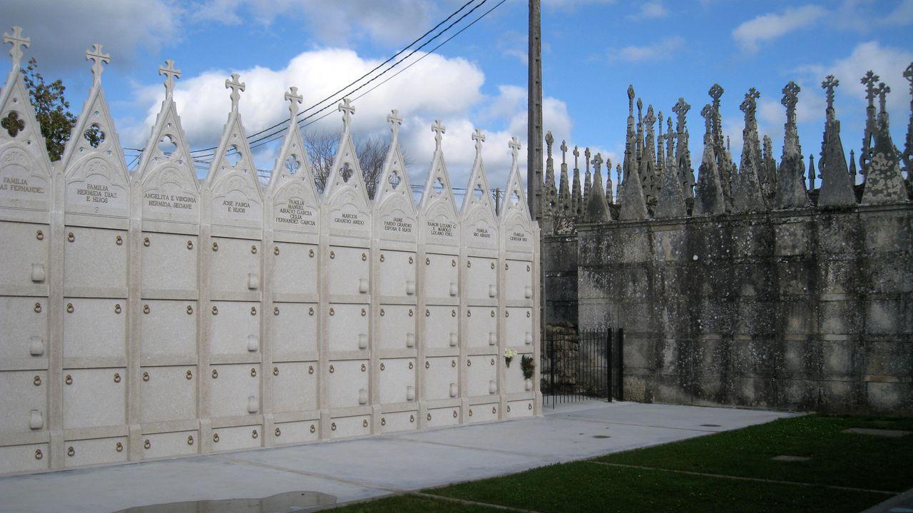 El castillo de Carbedo, antes y después de la torreta eléctrica.Isabel Aguirre dirige la escuela de paisaje de la Fundación Juana de Vega