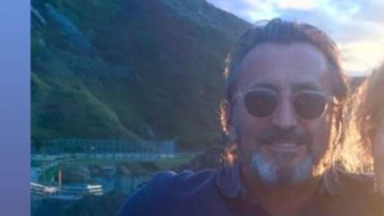 Imagen del hombre desaparecido difundida por su sobrino a través de las redes sociales para pedir ayuda para su localización