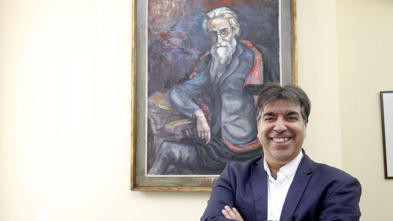 Xaquín Núñez Sabarís é membro do Grupo de Investigación Valle-Inclán da USC