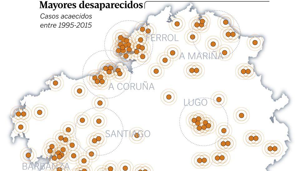 Mayores desaparecidos