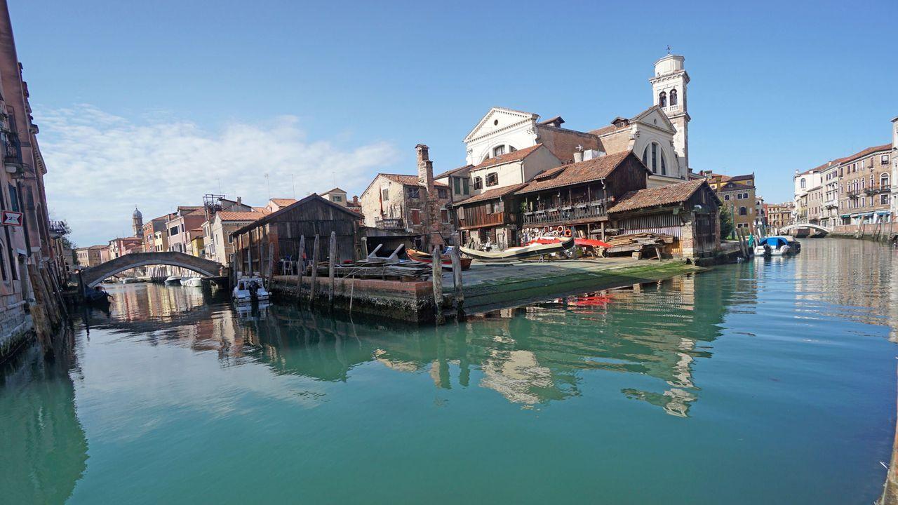 Panorámica de Venecia, en Italia