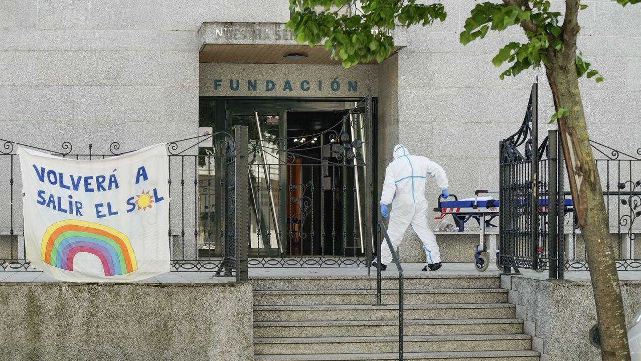 Así están las termas de A Chavasqueira.El conductor acusado del atropello, en enero en el juzgado penal de Ourense