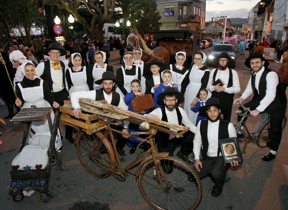 Los Amish, de Ordes, también resultaron premiados, al igual que los muñecos de Lego.