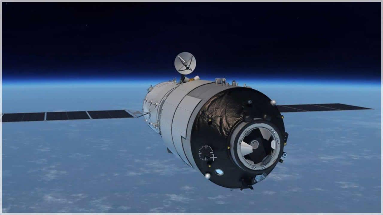 La estación espacial «Tiangong-1» avanza descontrolada hacia la Tierra.Cúmulo de galaxias MACS J1149