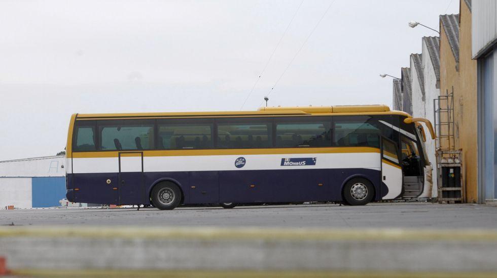 Presentación de las mejoras acometidas en la estación de autobuses de Oviedo.Autobuses de Alsa