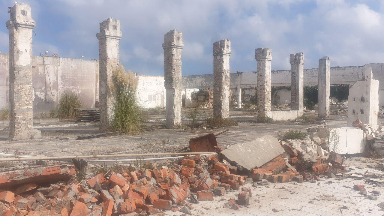 Estado actual de las instalaciones de la factoría burelense