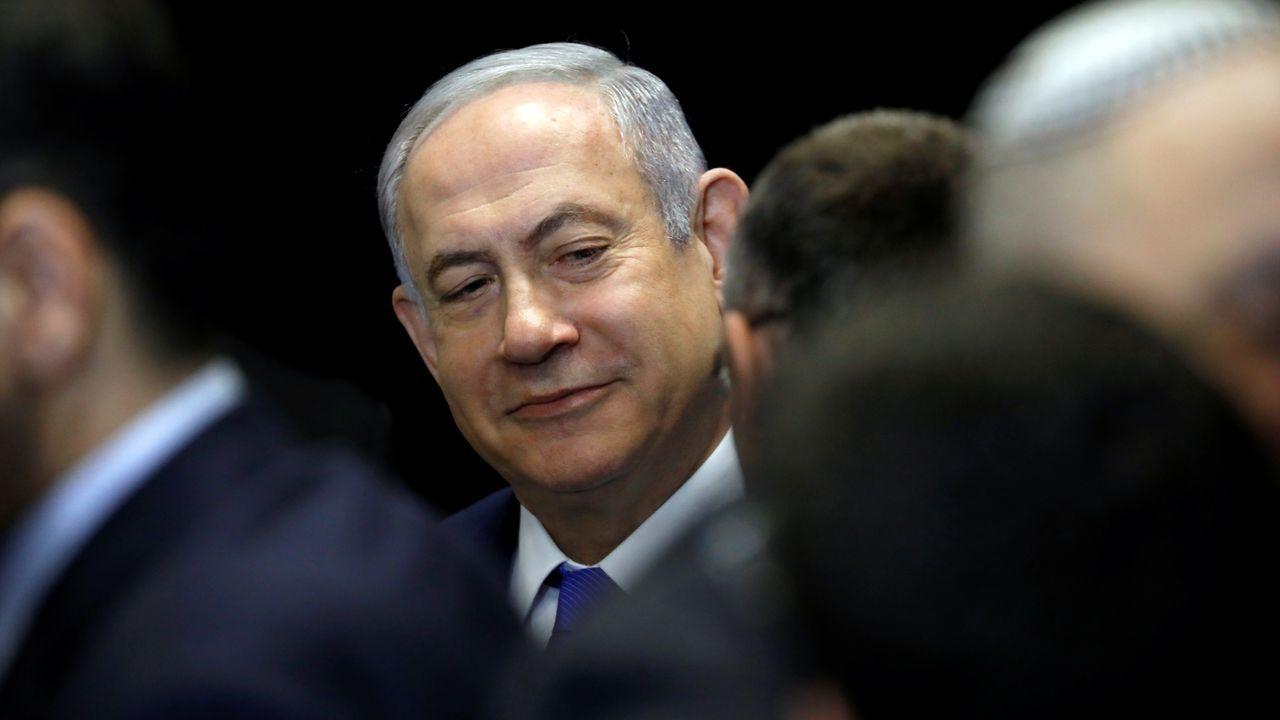 Netanyahu proclamó su victoria antes de finalizar el recuento