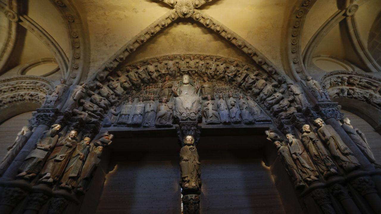 El pórtico de la Gloria, en Compostela