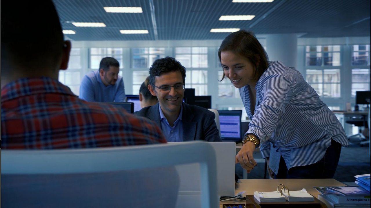 Analía López y Eduardo Faro; directora de sensórica de ITG y director de UAV Civiles de SDLE, respectivamente