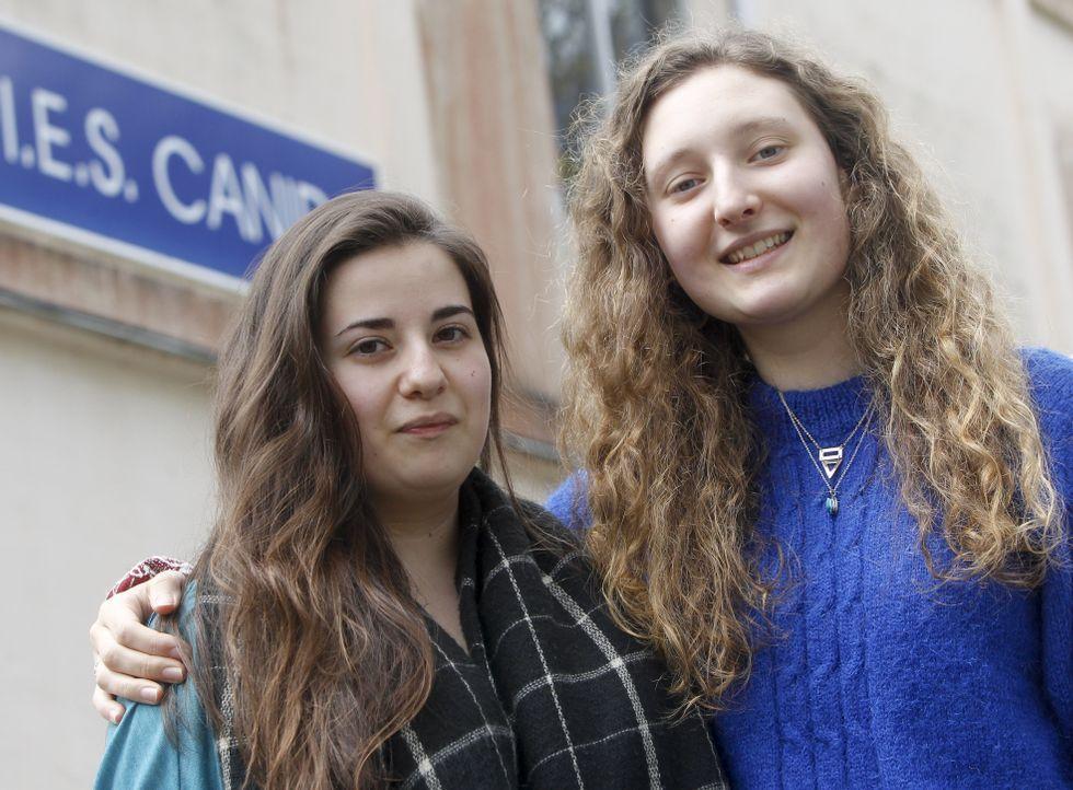 A María Gabía Rascado y Sofía Vega Santalla les gustan las humanidades desde pequeñas.