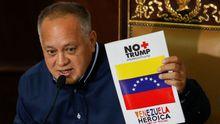 Diosdado Cabello, presidente de la oficialista Asamblea Nacional Constituyente y uno de los hombres fuertes del chavismo