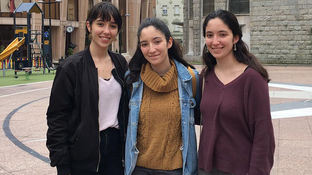Carmen Vilanova, Inés Vilanova y Lucía Vilanova
