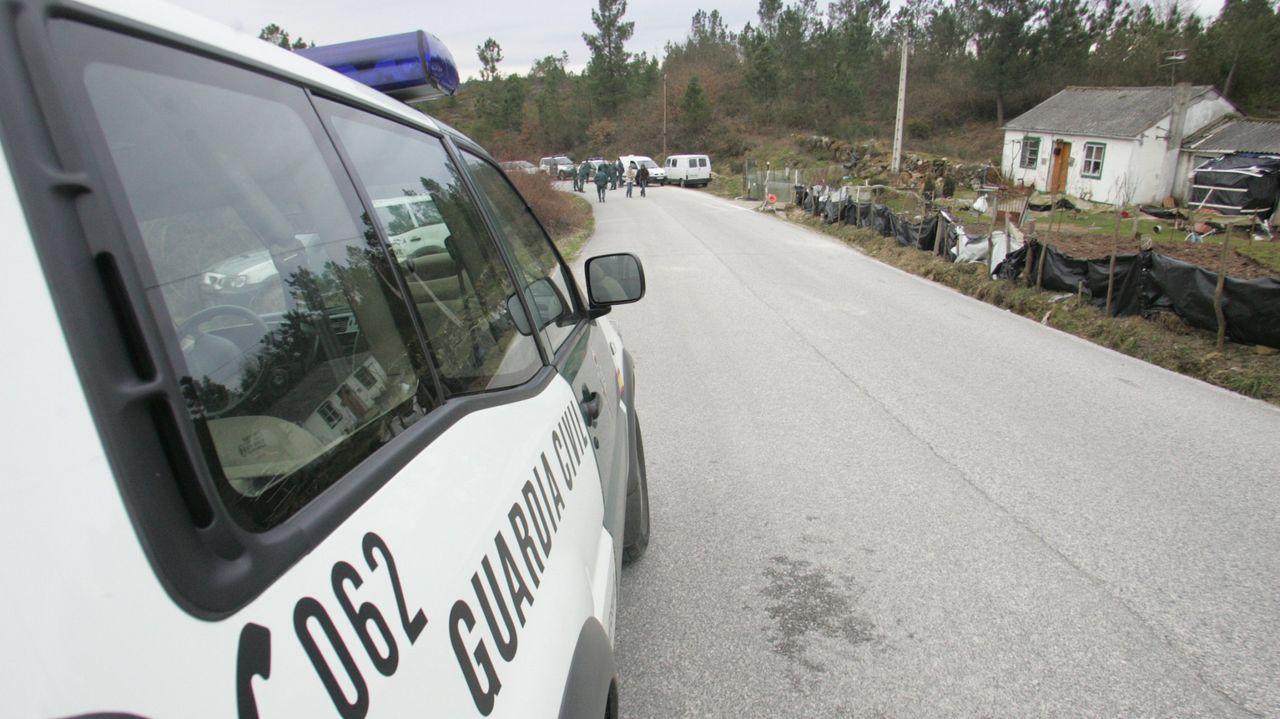 Imagen de archivo de la Guardia Civil en Láncara.