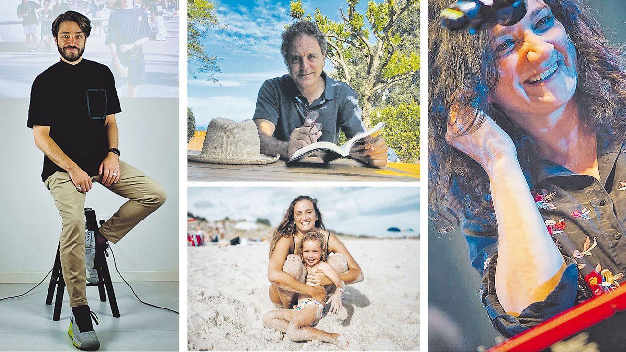 Borja Quiza, Domingo Villar, Érica Esmorís y Guadi Galego cuentan sus mejores veranos