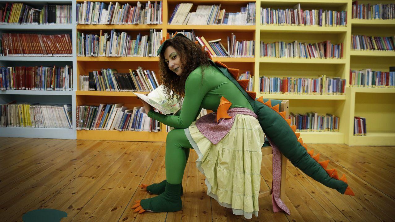 Los superhéroes de la comarca.Biblioteca