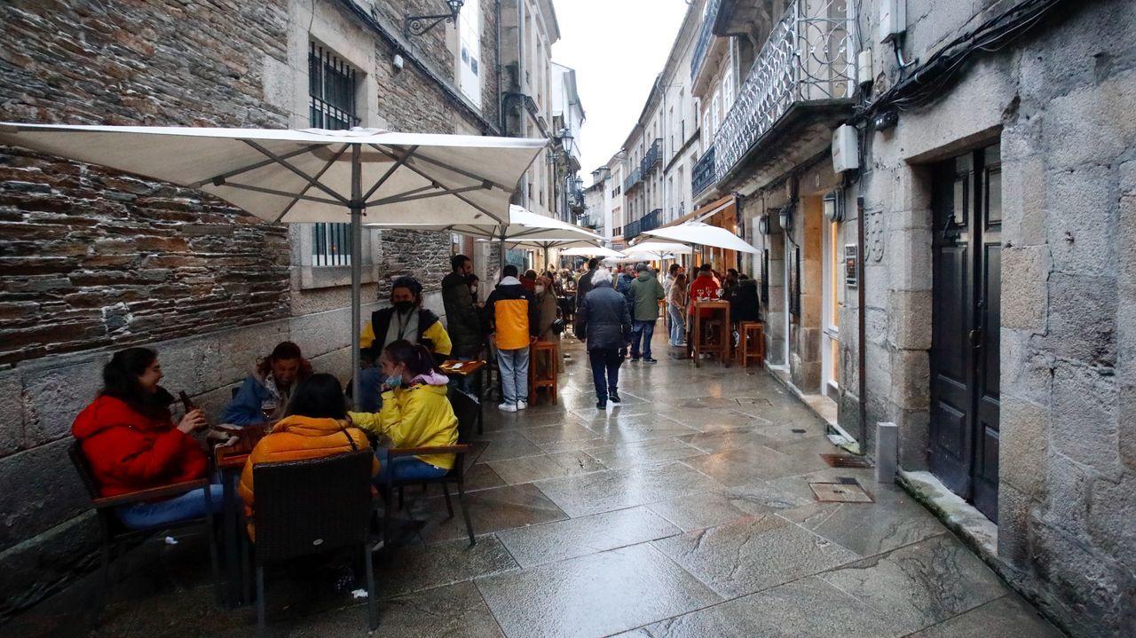 El trabajo del Centro de Atención a Discapacitados de Sarria en imágenes.Ambiente en el centro de Lugo