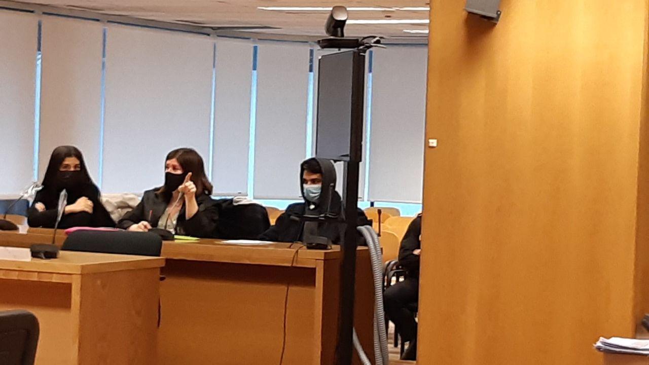 El Caníbal de las Ventas durante su declaración en los juzgados