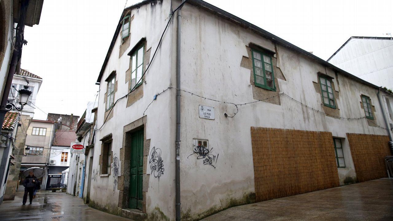 Pintadas en casas protegidas de A Pobra do Caramiñal