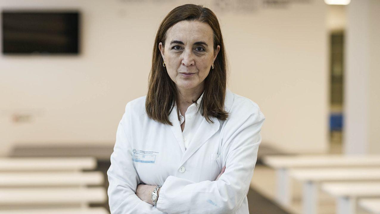 María Sande, jefa de Medicina Preventiva en el Complexo Hospitalario Universitario de Ourense