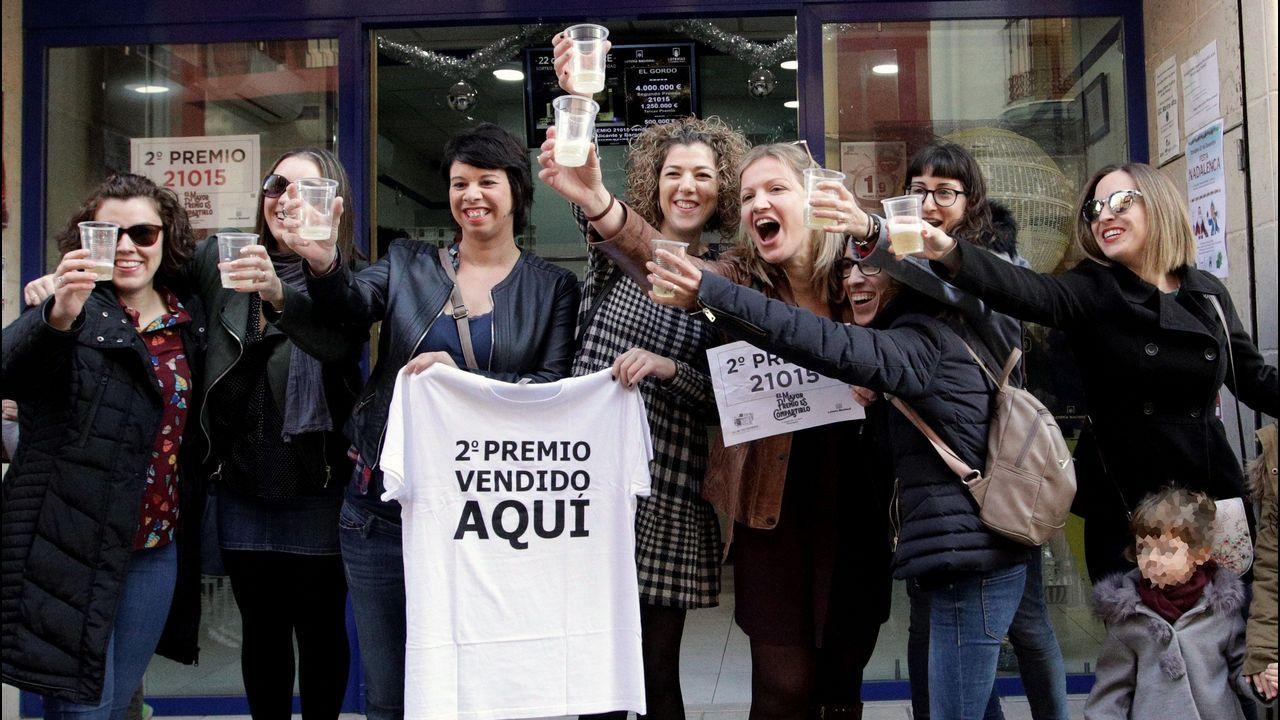 Esta administración de loterías de Pedreguer, en Alicante, repartió 8,75 millones de euros por ventanilla, todos a vecinos de la localidad