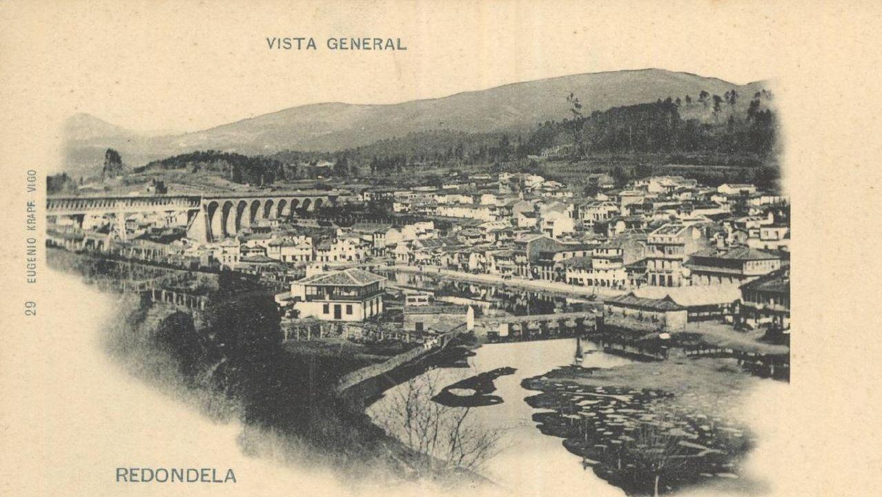 De Tui a Cangas sin salir de la Red.Control de la Policía Nacional en la avenida de Castrelos de Vigo