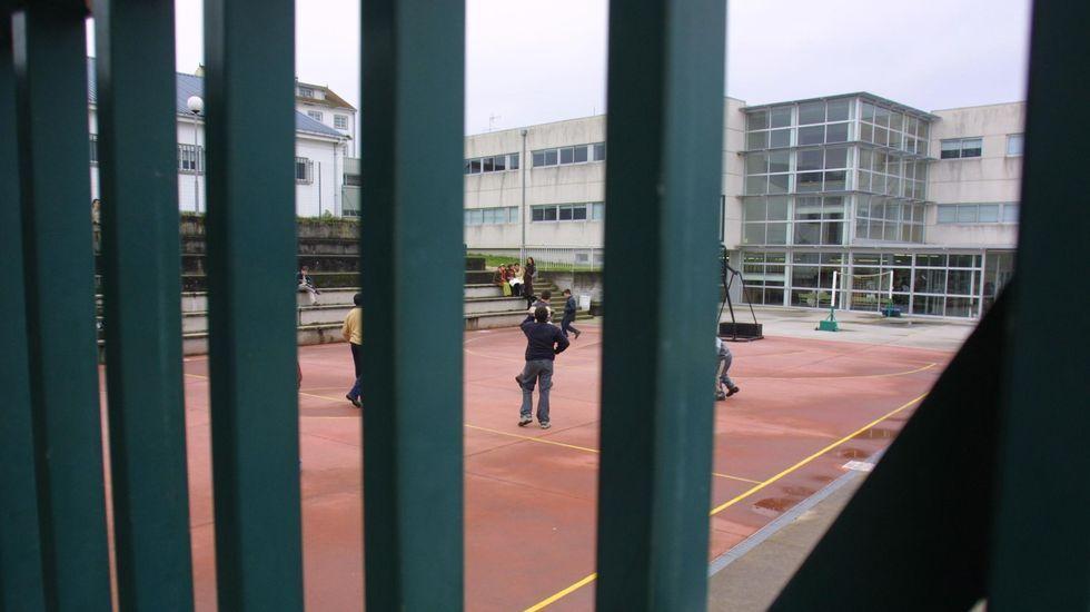El colegio de Taboada es un centro público integrado, con clases de Infantil, Primaria y ESO