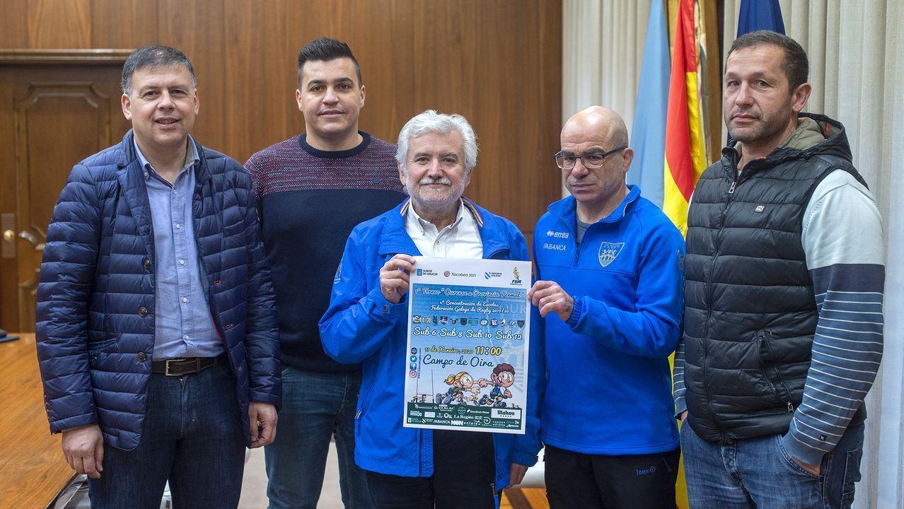 Rugbi desde la escuela en Ourense