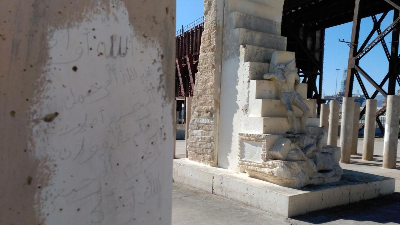 monumento víctimas nazismo