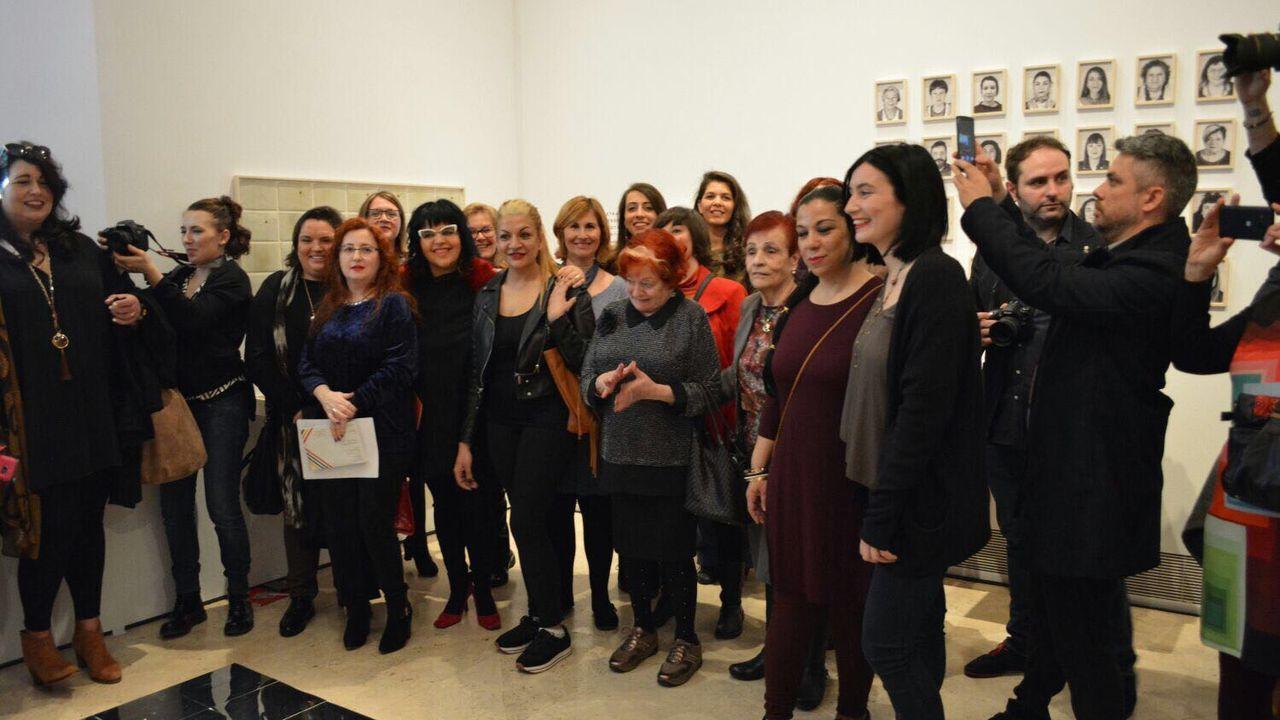 Artistas e colectivos lucenses no Thyssen no 2017 cando presentaron «Espazo da memoria».