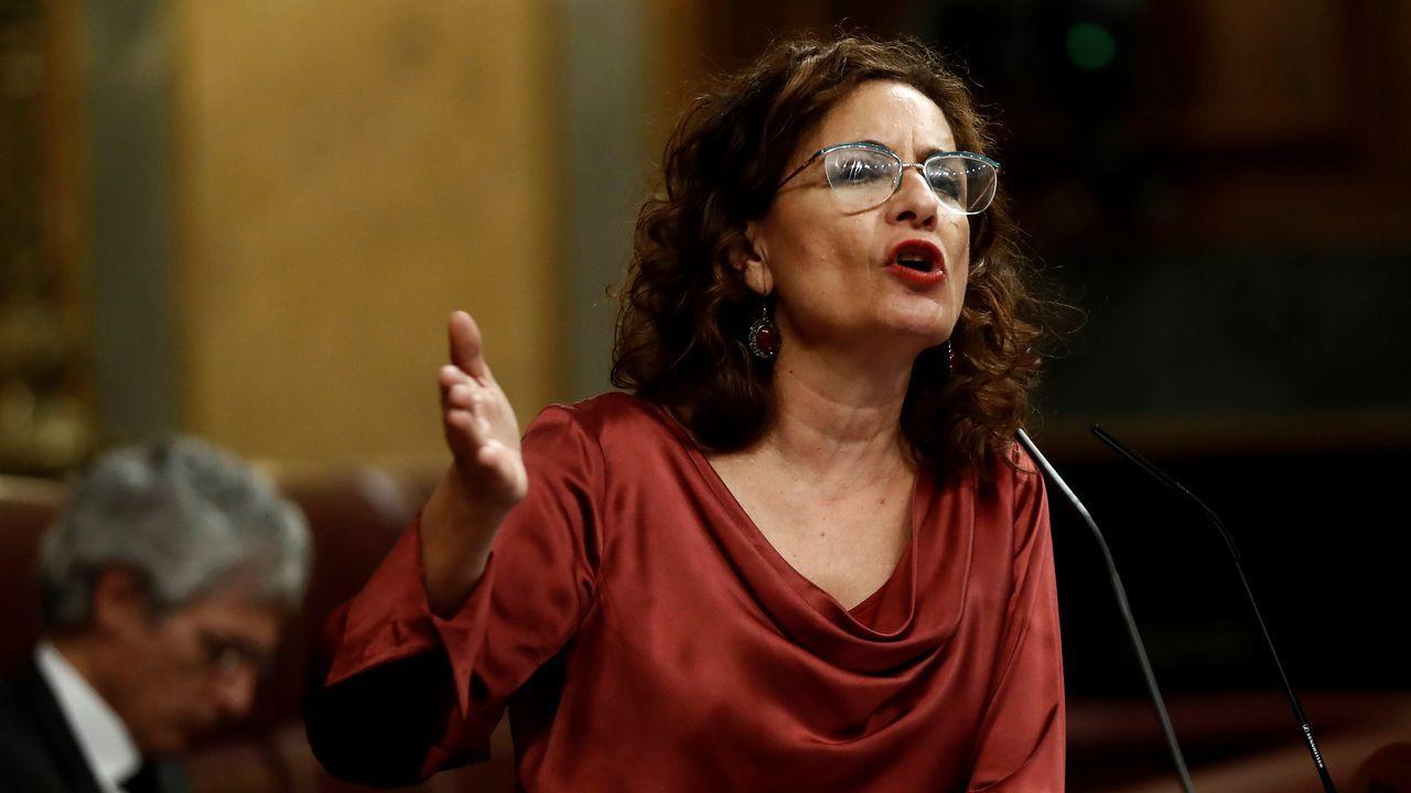 Comparecencia de Núñez Feijoo tras la reunión de Sánchez con los presidentes regionales.La portavoz María Jesús Montero fue la más dura con el PP: «Si no van a colaborar, apártense»