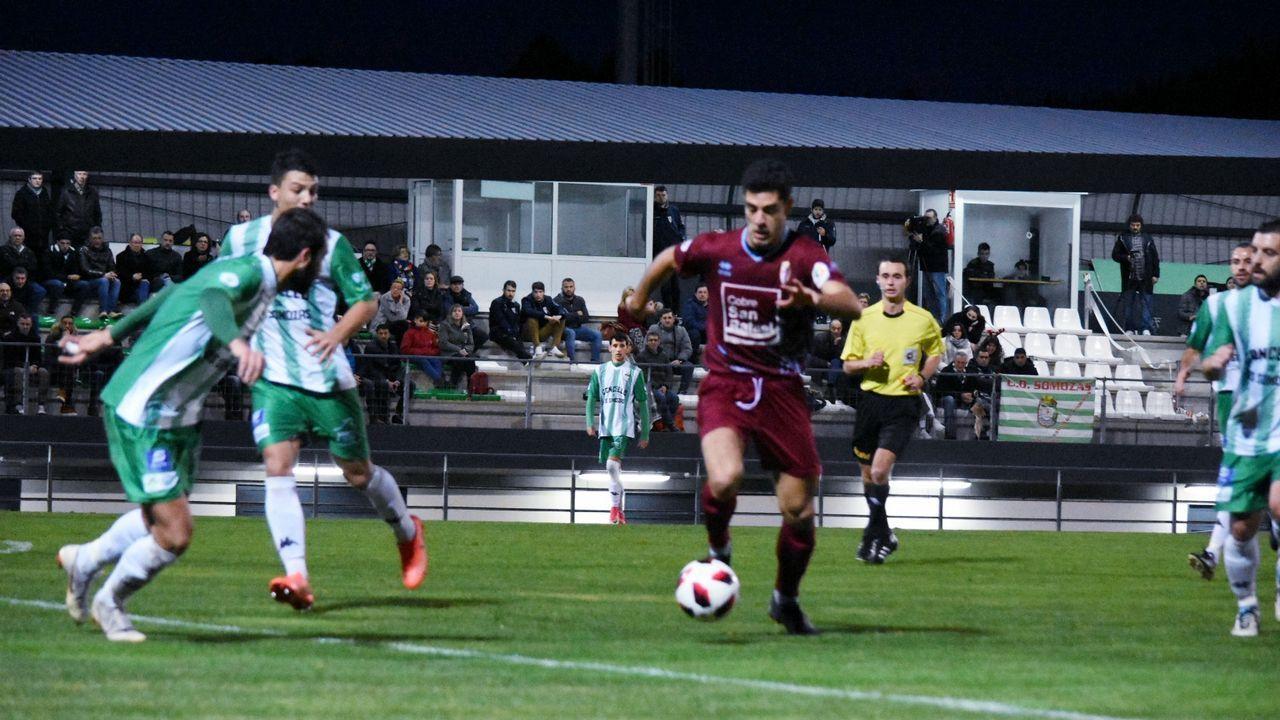 manolo.Imagen de archivo de un vestuario gallego durante un partido