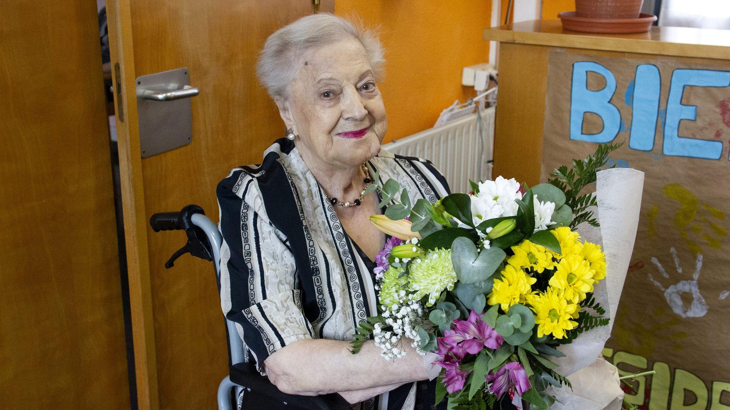 Os Resentidos, novo disco despois de 28 anos.Diamantina Rodríguez en el homenaje que recibió por su 100 cumpleaños