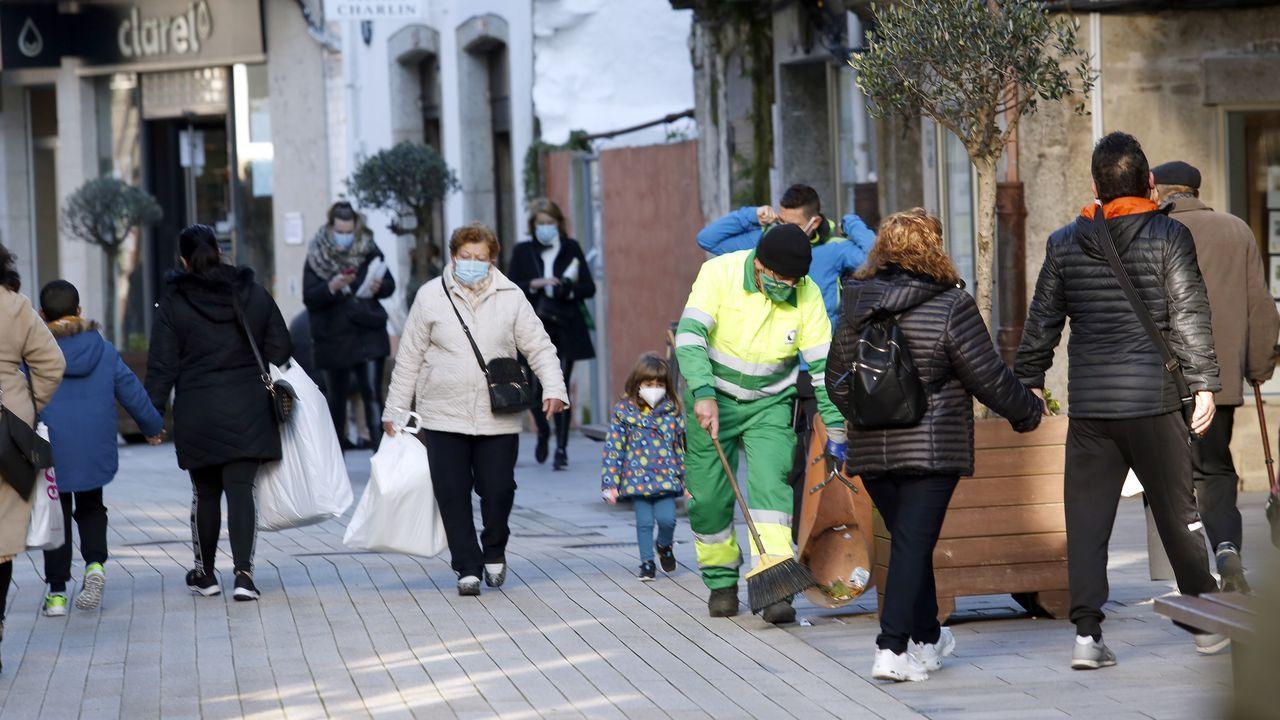 El concello de Ribeira lleva cerrado perimetralmente desde el 15 de diciembre