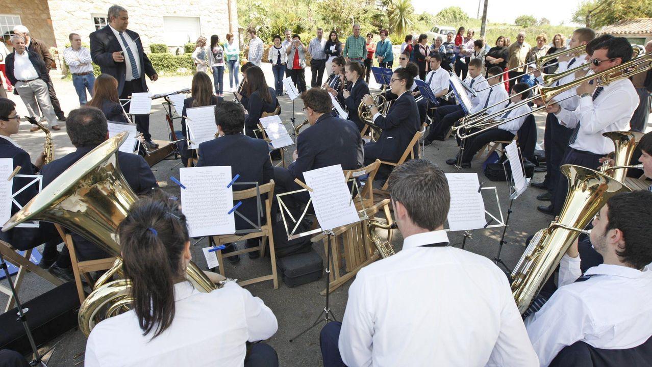 La Banda de Taboada ofrecerá el domingo un concierto