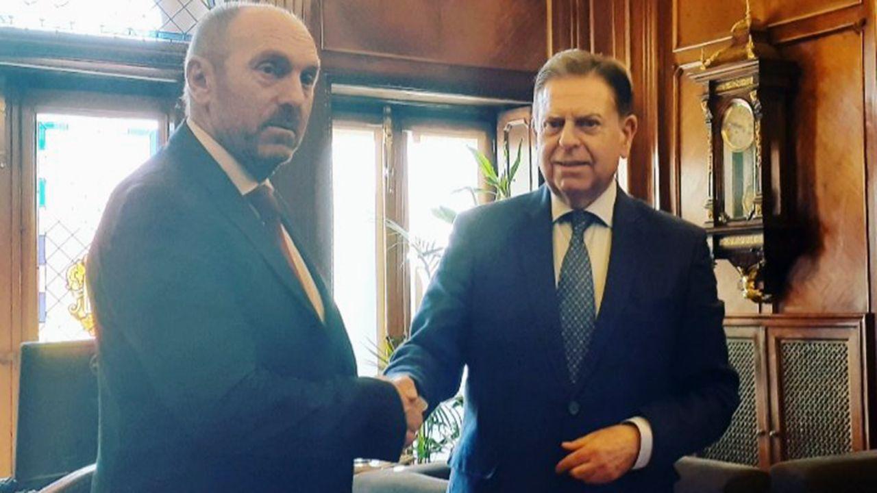 Juan Cofiño y Alfredo Canteli