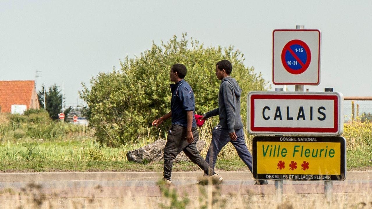 Nueva entrada masiva de inmigrantes en Ceuta