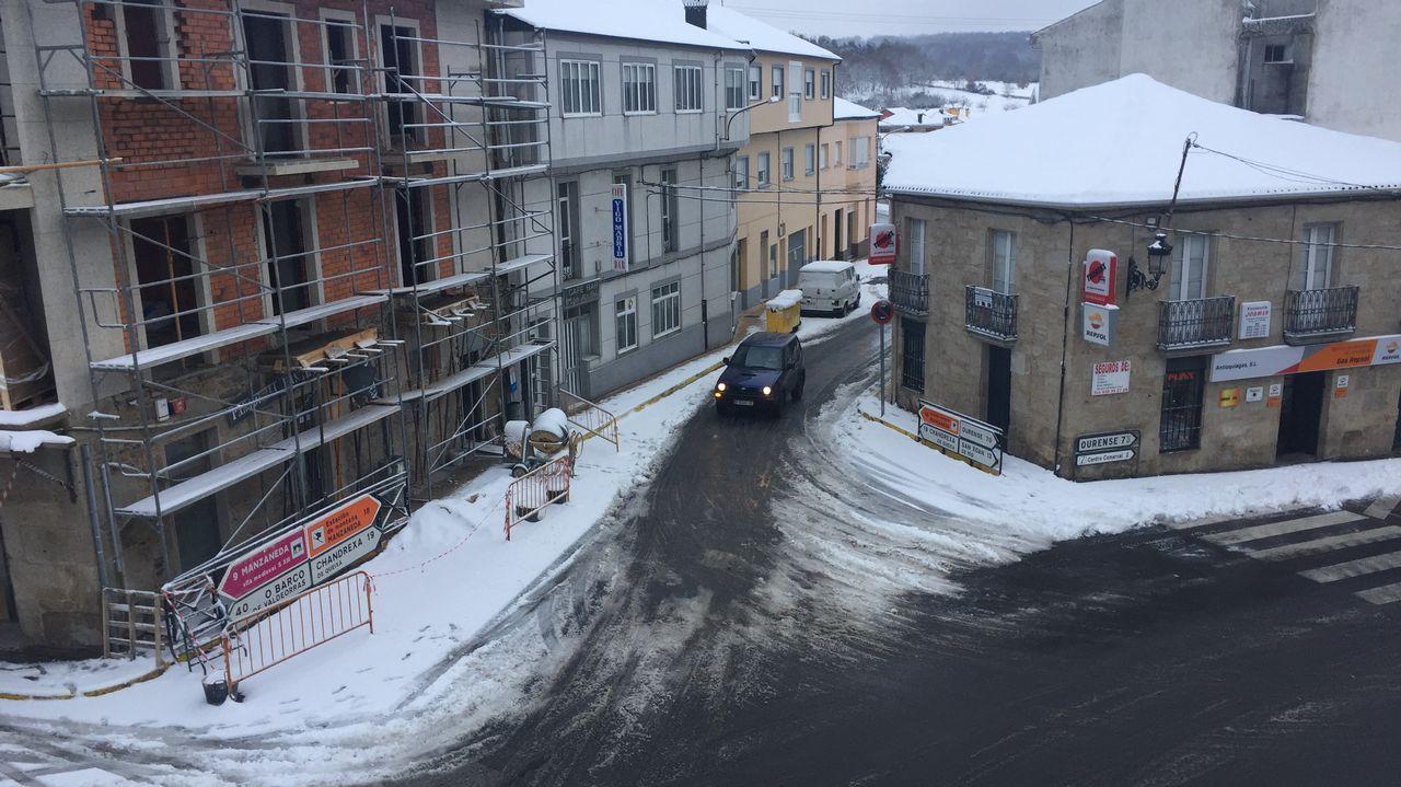 Temporal de nieve en Trives