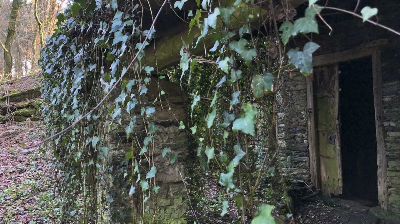 Exterior del molino de Souto, en Bóveda, que fue cedido por sus propietarios al Ayuntamiento y que será rehabilitado