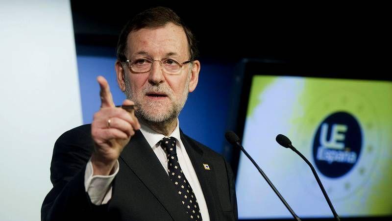 El lapsus temporal de Rajoy