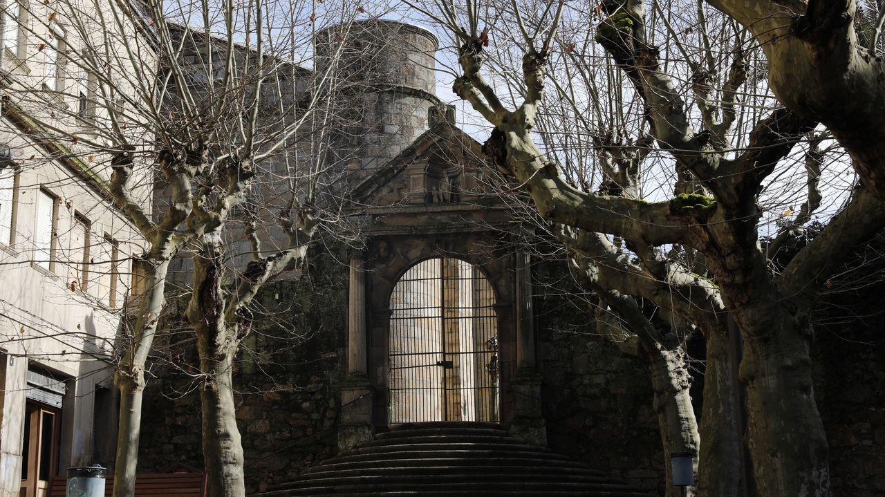 La Trinidad es el templo más antiguo de Ourense y acaba de ser reformado
