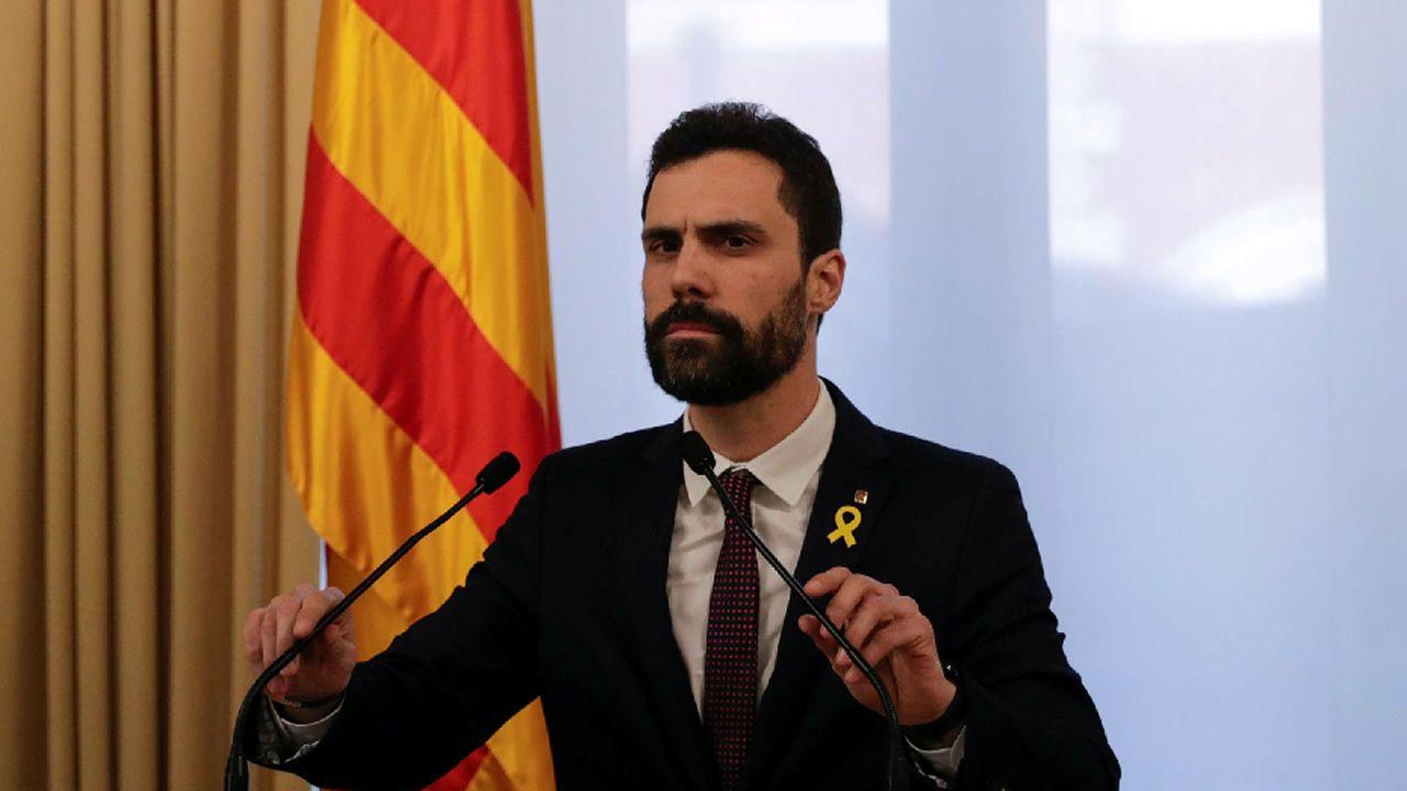 Torrent suspende la investidura de Puigdemont «hasta que pueda celebrarse un debate con garantías»