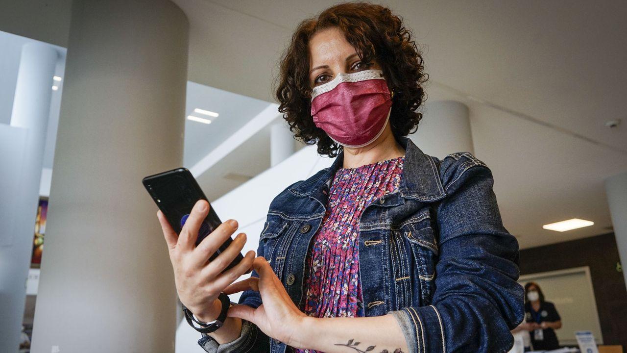 Ángeles Sampedro, paciente que superó un cáncer, participa en el proyecto Persist.Vista desde O Corgo (Muíños)