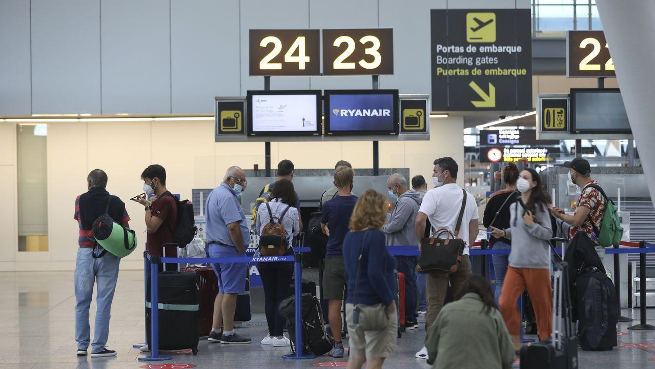 Trailer del documental de Fernando Alonso.Imagen del aeropuerto compostelano de Lavacolla