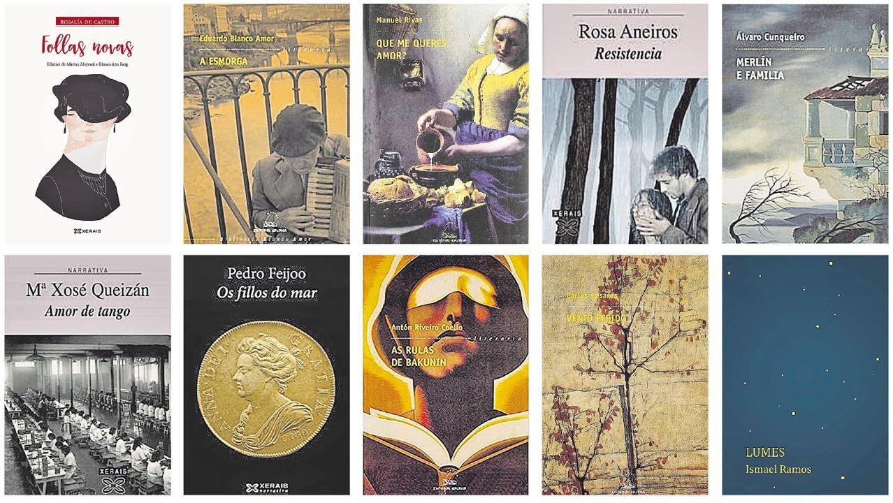 Dez títulos galegos imprescindibles, elixidos con axuda de seis profesionais do mundo do libro en Galicia